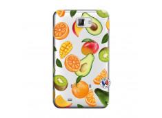 Coque Samsung Galaxy Note 1 Salade de Fruits