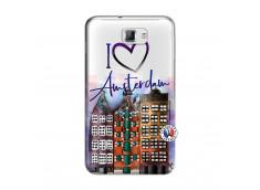 Coque Samsung Galaxy Note 1 I Love Amsterdam