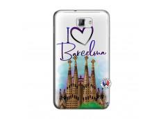 Coque Samsung Galaxy Note 1 I Love Barcelona
