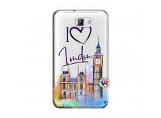 Coque Samsung Galaxy Note 1 I Love London