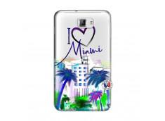 Coque Samsung Galaxy Note 1 I Love Miami