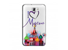 Coque Samsung Galaxy Note 1 I Love Moscow