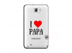 Coque Samsung Galaxy Note 1 I Love Papa