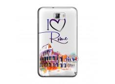 Coque Samsung Galaxy Note 1 I Love Rome