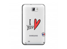 Coque Samsung Galaxy Note 1 I Love You