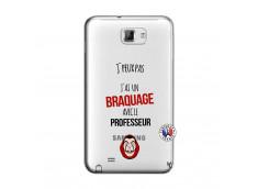 Coque Samsung Galaxy Note 1 J Peux Pas J Ai Un Braquage Avec Le Professeur