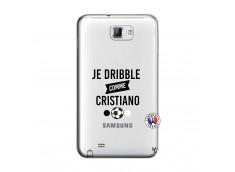 Coque Samsung Galaxy Note 1 Je Dribble Comme Cristiano