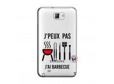 Coque Samsung Galaxy Note 1 Je Peux Pas J Ai Barbecue