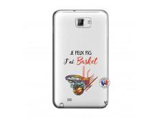 Coque Samsung Galaxy Note 1 Je Peux Pas J Ai Basket