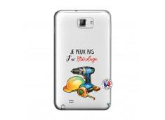 Coque Samsung Galaxy Note 1 Je Peux Pas J Ai Bricolage