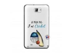 Coque Samsung Galaxy Note 1 Je peux pas j'ai cricket