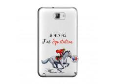 Coque Samsung Galaxy Note 1 Je Peux Pas J Ai Equitation