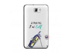 Coque Samsung Galaxy Note 1 Je Peux Pas J Ai Golf