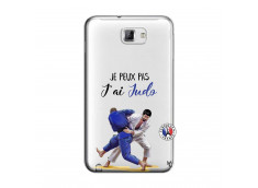 Coque Samsung Galaxy Note 1 Je peux pas j'ai Judo