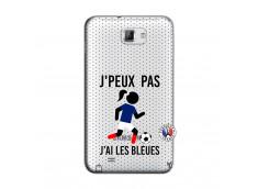 Coque Samsung Galaxy Note 1 Je Peux Pas J Ai Les Bleues Maillot