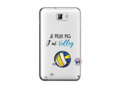 Coque Samsung Galaxy Note 1 Je Peux Pas J Ai Volley