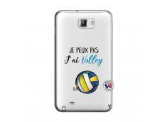 Coque Samsung Galaxy Note 1 Je Peux Pas J Ai Volley
