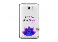 Coque Samsung Galaxy Note 1 Je Peux Pas J Ai Yoga