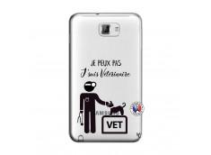 Coque Samsung Galaxy Note 1 Je Peux Pas Je Suis Veterinaire