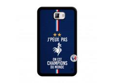 Coque Samsung Galaxy Note 1 Je Peux Pas On Est Les Champions Du Monde Noir