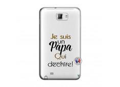 Coque Samsung Galaxy Note 1 Je Suis Un Papa Qui Dechire