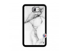 Coque Samsung Galaxy Note 1 White Marble Noir