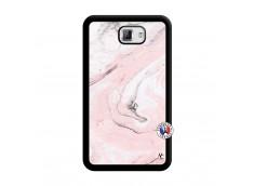 Coque Samsung Galaxy Note 1 Marbre Rose Noir
