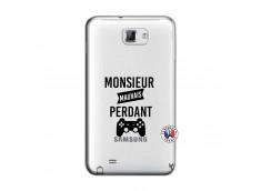 Coque Samsung Galaxy Note 1 Monsieur Mauvais Perdant