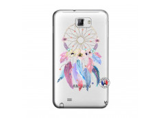 Coque Samsung Galaxy Note 1 Multicolor Watercolor Floral Dreamcatcher