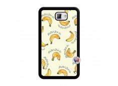 Coque Samsung Galaxy Note 1 Sorbet Banana Split Noir