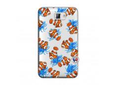 Coque Samsung Galaxy Note 1 Poisson Clown