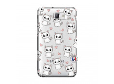 Coque Samsung Galaxy Note 1 Petits Chats