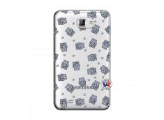 Coque Samsung Galaxy Note 1 Petits Hippos