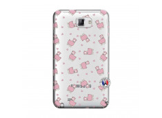 Coque Samsung Galaxy Note 1 Petits Moutons