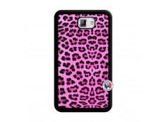 Coque Samsung Galaxy Note 1 Pink Leopard Noir