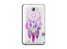 Coque Samsung Galaxy Note 1 Purple Dreamcatcher
