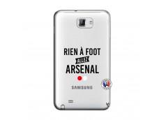 Coque Samsung Galaxy Note 1 Rien A Foot Allez Arsenal