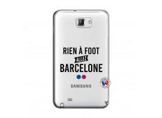 Coque Samsung Galaxy Note 1 Rien A Foot Allez Barcelone