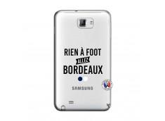 Coque Samsung Galaxy Note 1 Rien A Foot Allez Bordeaux