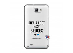 Coque Samsung Galaxy Note 1 Rien A Foot Allez Bruges