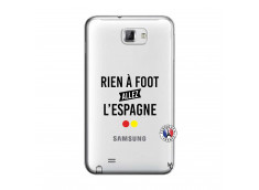 Coque Samsung Galaxy Note 1 Rien A Foot Allez L'Espagne