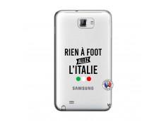 Coque Samsung Galaxy Note 1 Rien A Foot Allez L'Italie