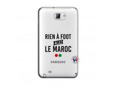 Coque Samsung Galaxy Note 1 Rien A Foot Allez Le Maroc