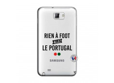 Coque Samsung Galaxy Note 1 Rien A Foot Allez Le Portugal