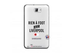 Coque Samsung Galaxy Note 1 Rien A Foot Allez Liverpool