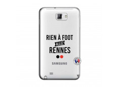 Coque Samsung Galaxy Note 1 Rien A Foot Allez Rennes