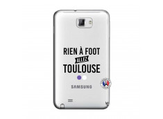 Coque Samsung Galaxy Note 1 Rien A Foot Allez Toulouse