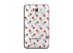 Coque Samsung Galaxy Note 1 Rose Pattern