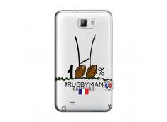 Coque Samsung Galaxy Note 1 100 % Rugbyman Entre les Poteaux