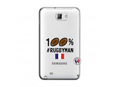 Coque Samsung Galaxy Note 1 100% Rugbyman